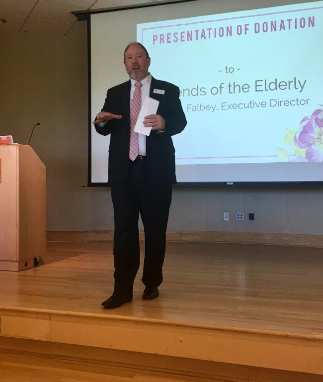 Congratulations Friends of the Elderly, Exectuive Director James Falbey